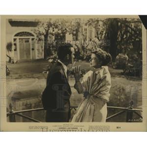 1960 Press Photo Suddenly Last Summer with Katherine Hepburn, M Cliff