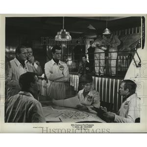 1966 Press Photo I Deal In Danger starring Robert Goulet, Eva Pflug - lfx01078