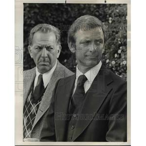 1977 Press Photo Jack Klugman in Quincy - orp25531