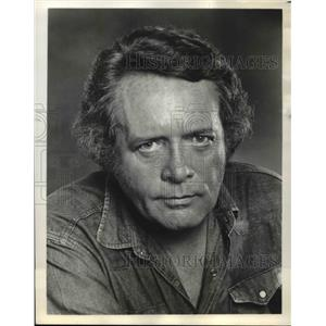 1978 Press Photo Actor Patrick McGoohan - orp25572