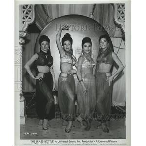 1962 Press Photo The Brass Bottle Sheila Kayne, Christina Kay, Desiree Sumarra