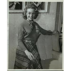 1962 Press Photo My Dark Days Preslude starring Jeanne Crain on GE Theater