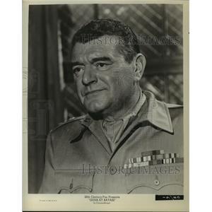 1964 Press Photo Guns at Batasi starring Jack Hawkins in 20th Century Fox film