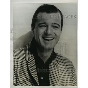 1963 Press Photo The Ed Sullivan Show guest starring Robert Goulet - lfx02941