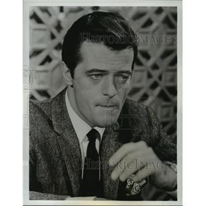 1966 Press Photo Brigadoon starring Robert Goulet on ABC - lfx02944