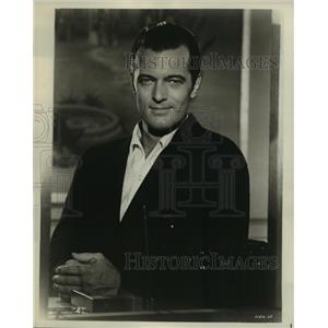 1964 Press Photo Honeymoon Hotel starring Robert Goulet in MGM film - lfx02945