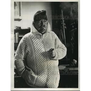 1956 Press Photo Blast Off starring Burl Ives on ABC - lfx03004