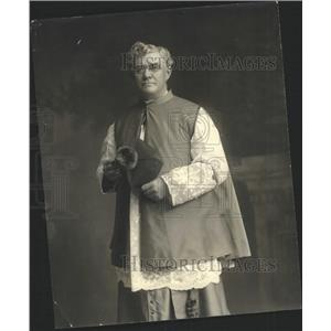 1916 Press Photo Monsignor  P A Phillips Roman Catholic