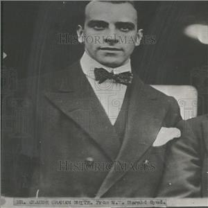 Press Photo Aviation pioneer Claude Grahame White - RRY27681