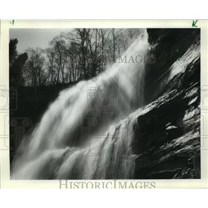 1984 Press Photo The Hungarian Falls near Tamarack in Trempealeau County.