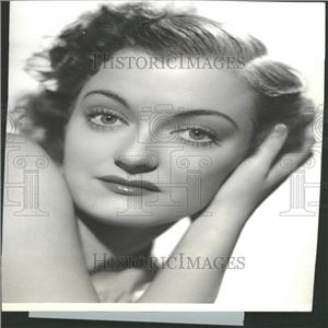 1936 Press Photo Joy Hodges American Actress Singer