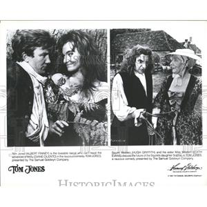 1963 Press Photo Two Scenes From Tom Jones