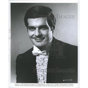 1968 Press Photo Egyptian Actor Omar Sharif