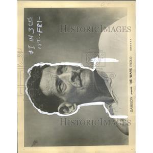 1938 Press Photo The Wave Film Actor Profile Mexico