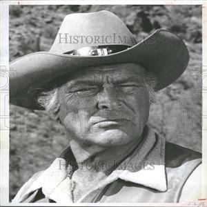 1967 Press Photo Leif Erickson American Film Actor