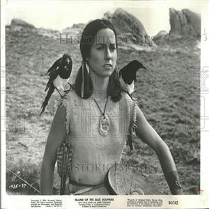1966 Press Photo Movie Newcomer Celia Kaye Stars