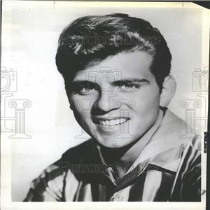 1961 Press Photo Singer Fabian Portrait Promo Picture