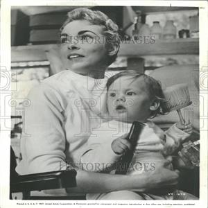 1958 Press Photo Janet Leigh American Film Actress