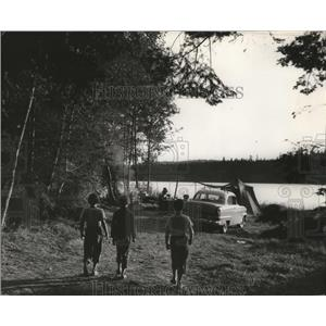 1960 Press Photo Campground in Moran State Park on Orcas Island - spa35885