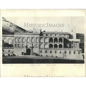 1931 Press Photo Palace/Monte Carlo/Prince Louis 2nd
