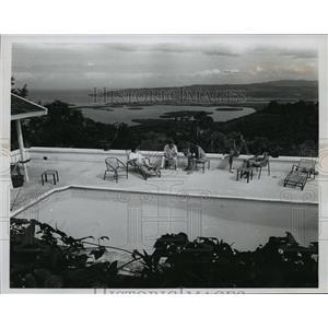 1967 Press Photo Caribbean Island 1000 feet above Montego Bay - spa36531