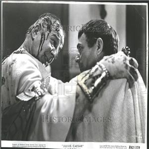 1964 Press Photo Louis Calhern James Mason Film Actors