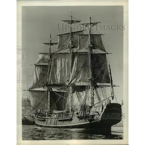 1964 Press Photo HMS Bounty for the film Mutiny on the Bounty - lfx01787