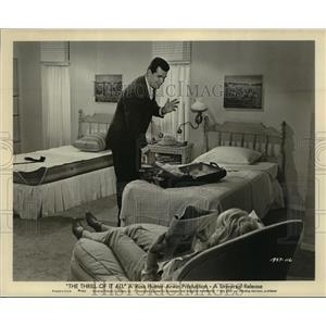 1963 Press Photo The Thrill of It All starring James Garner, Doris Day