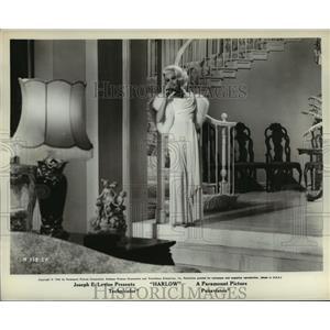 1965 Press Photo Harlow starring Carroll Baker as Jean Harlow - lfx02601