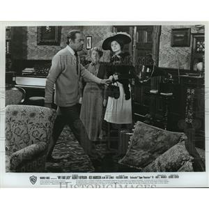 1964 Press Photo My Fair Lady starring Rex Harrison, Audrey hepburn - lfx02622