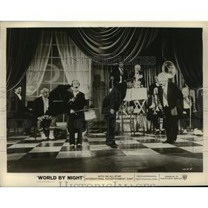 1961 Press Photo World by Night starring Cheri Bibi, Jackie Corn - lfx02643