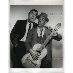 1961 Press Photo My Three Sons on CBS starring Fred MacMurray, Eddie Foy Jr