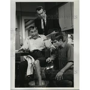 1961 Press Photo My Three Sons on CBS starring Fred MacMurray, Don Grady