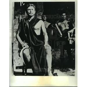 1954 Press Photo Ulysses starring Kirk Douglas on ABC TV - lfx03125