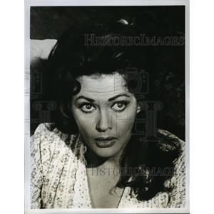 1963 Press Photo McClintock on CBS starring Yvonne DeCarlo - lfx03138