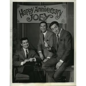1961 Press Photo The Joey Bishop Show with Regis Philbin, Johnny Mann
