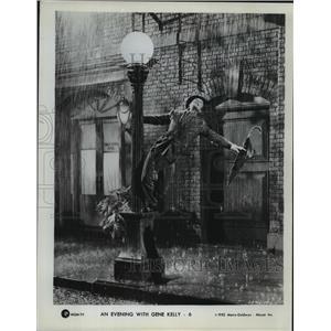 1952 Press Photo An Evening With Gene Kelly from Metro Goldwyn Mayer - lfx03218