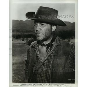 1961 Press Photo The Last Sunset starrring Neville Brand - lfx03249