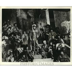 1962 Press Photo Marco Polo with Pierre Cressoy, Rory Calhoun - lfx03785