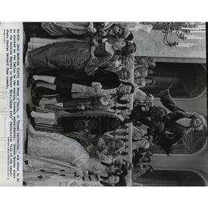 1966 Press Photo Great Catherine stars Jeanne Moreau, Zero Mostel - lfx03787