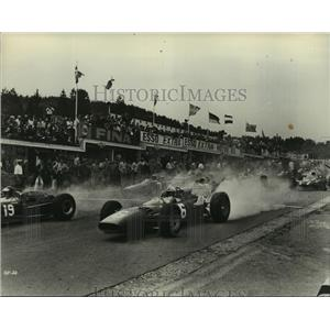 1966 Press Photo Gran Prix starring James Garner, Eva Marie Saint - lfx03846