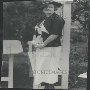 1934 Press Photo Miss Edith Jane Sturgeon