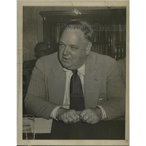 1952 Press Photo Whittaker Chambers at Senate Security Spy Hearing, Washington