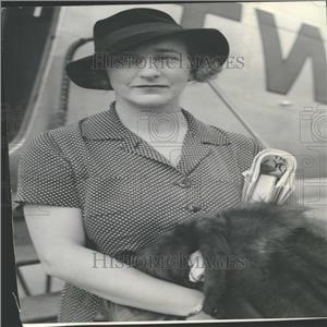 1935 Press Photo Lillian Hellman Author Children's Hour