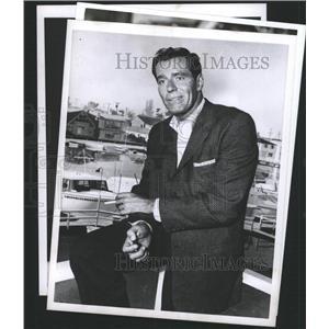 1960 Press Photo Philip Carey American actor