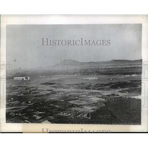 1944 Press Photo Japan Military Aerial View - ftx00182