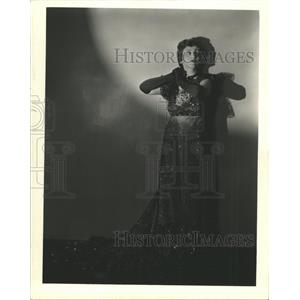 1935 Press Photo Central City Kathryn Nelson