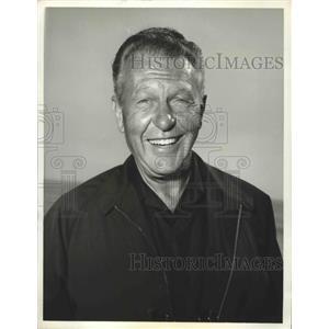1965 Press Photo Ralph Bellamy guest stars on ABC TV/c The FBI - lfx04343