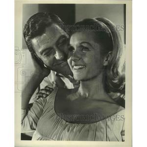1967 Press Photo Divorce American Style with Dick Van Dyke & Debbie Reynolds