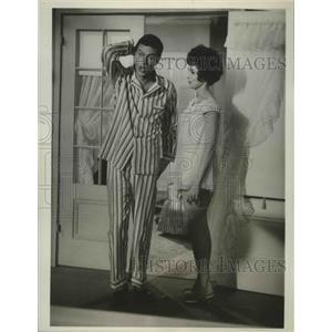 1963 Press Photo Dick Van Dyke & Janet Leigh in Bye Bye Birdie - lfx04445